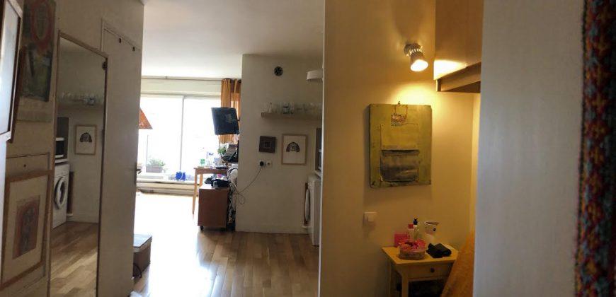 Studio PMR adapté et équipé. Paris 14ième